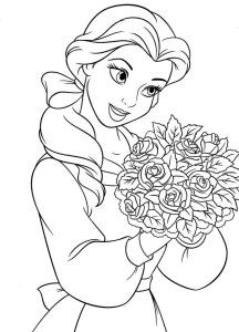 Disney Princess Printables Coloring Pages