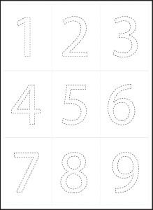 kids coloring number 1-2-3-4-5-6-7-8-9-10