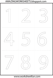 Download - Coloring number 1, 2, 3, 4, 5, 6, 7, 8, 9 and 10