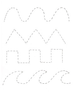 tracing coloring page